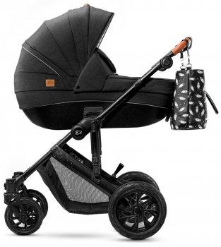 Універсальна коляска 2 в 1 Kinderkraft Prime Black + Mommy Bag (158998)