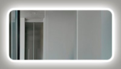 Дзеркало J-MIRROR Palladia Edge 80x80 LED