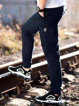Карго брюки BEZET Hunter dark blue'20