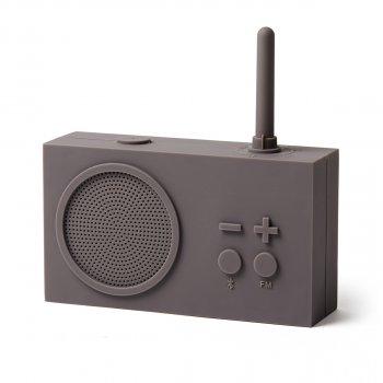 """Радіо """"Tykho 3"""" сірий"""
