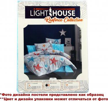 Комплект постельного белья LightHouse Ranforce Feather 200х220 (2200000550521)
