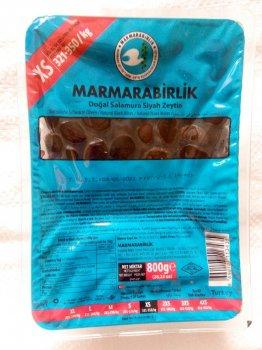 Маслини в'ялені Marmarabirlik чорні XS 800 м (ol3)