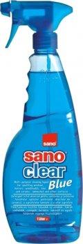 Засіб для миття скла Sano Clear Blue 1 л (7290005425646)