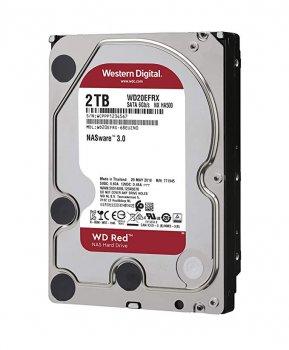 Жорсткий диск WD Red NAS - in 3.5 SATA 2TB 64MB 5.4 K Ha (WD20EFRX) Refurbished