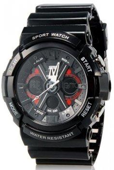 Чоловічий годинник Skmei 0966 Black BOX (0966BOXBK)