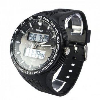Чоловічий годинник Skmei 1066 Black BOX (1066BOXBK)