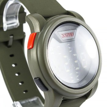 Мужские часы Skmei DG1218 Army Green BOX (DG1218BOXAG)