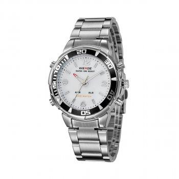 Мужские часы Weide White WH843-2C SS (WH843-2C)