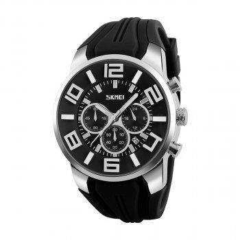 Мужские часы Skmei 9128 Black BOX (9128BOXBK)
