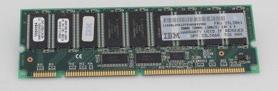 Оперативна пам'ять IBM 256MB 133MHz SDRAM ECC RDIMM (33L3060) Refurbished