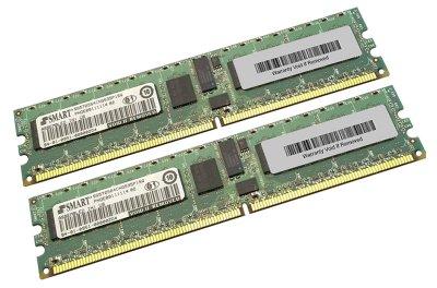Оперативна пам'ять NetApp DDR2-RAM 4GB Kit 2x2GB PC2-5300R ECC 2R (SG572564CNG535P1SQ) Refurbished