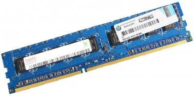 Оперативна пам'ять HP DDR3-RAM 2GB PC3-10600E ECC 2R (500209-562) Refurbished