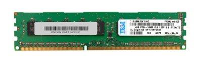 Оперативна пам'ять IBM 4GB (1x4GB, 2Rx8, 1.35 V) PC3L-10600 CL9 ECC DDR3 1 1333MHz LP UDIMM (49Y1404) Refurbished