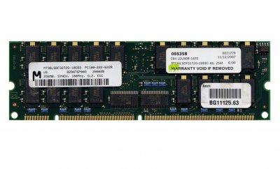 Оперативна пам'ять Compaq SD-RAM 512MB-Kit 2x256MB/PC100R/ECC/CL2 (317749-001) Нове