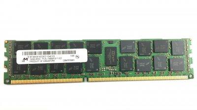 Оперативна пам'ять HP DDR3-RAM 16GB PC3L-10600R ECC 2R (MT36KSF2G72PZ-1G4) Refurbished