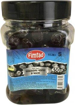 Маслины черные вяленые Fimtad 450 г (8681957370655)