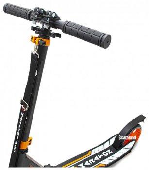 Двоколісний Самокат Maraton Pro 2020 Black-Orange (чорно-помаранчевий)