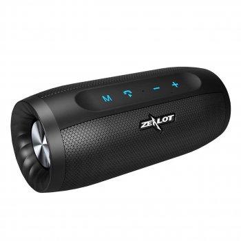 Bluetooth Колонка ZEALOT S16 Black бездротова стерео Батарея 4000 маг