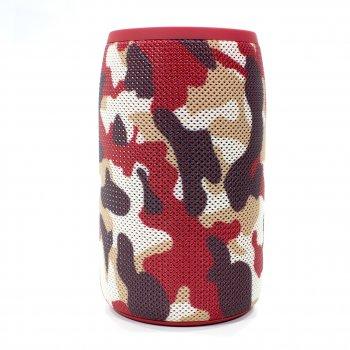 Колонка ZEALOT S32 Red Camouflage bluetooth 5.0 бездротова 5 Вт