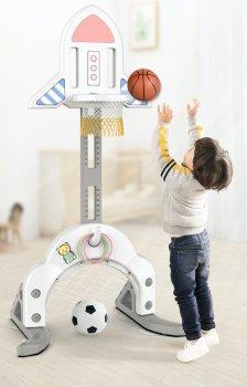 Баскетбольний щит XoKo Ракета Play Pen BS01 3 в 1 (9869201150003)