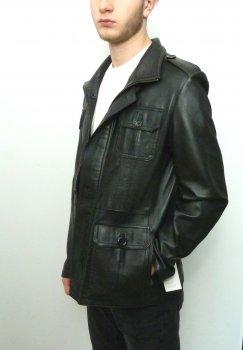 Чоловіча куртка Eleganza з натуральної шкіри. Модель DAMAT