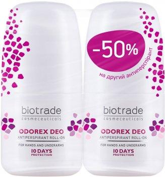 Набор антиперспирантов Biotrade Odorex длительного действия 40 мл х 2 шт (второй дезодорант длительного действия Odorex за полцены) (3800221841263)
