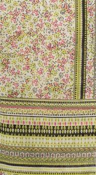 Платок H&M 12960143 180х65 см Зеленый в цветы (hm2000000864389_hm08423150389)