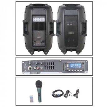 Активная акустическая система NGS PARTY 15 2*15″, 400W