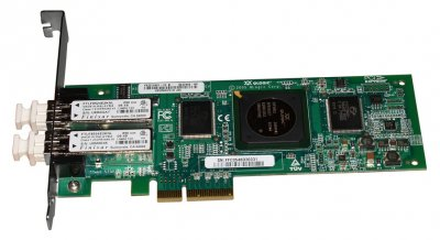 Контролер HP PCI-E 4GB FC DUAL PORT HBA (407621-001) Refurbished