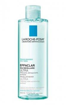 La Roche-Posay Effaclar Ultra очищаюча міцелярна вода для проблемної шкіри (400 мл)