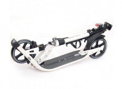 Двоколісний Самокат Scale Sports міської SR 2-015 алюмінієвий Чорний