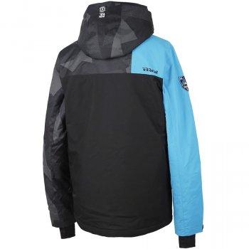Куртка Rehall Creak Черный-Голубой