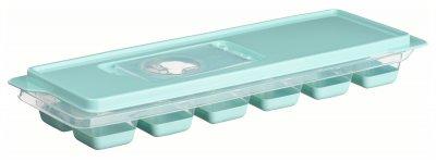 Форма для льоду Ardesto Fresh з кришкою 12 секцій Блакитний тіффані (AR1101TP)