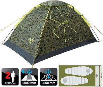 Палатка Norfin RUFFE 2 NC (NC-10101)