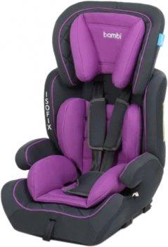 Автокрісло Bambi M 4250 9-36 кг Isofix Purple (Bambi M 4250 purple)