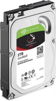 "Жорстку диск HDD 2TB Seagate IronWolf NAS 3.5"", 5900rpm, SATA 3, 64MB (ST2000VN004)"