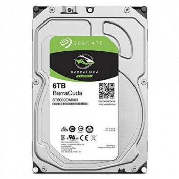 "Жорстку диск HDD 6Tb Seagate 3.5"" 5400rpm, SATA3 6Gb/s, 256MB, BarraСuda (ST6000DM003)"