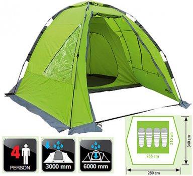 Палатка Norfin ZANDER 4 NF (NF-10403)