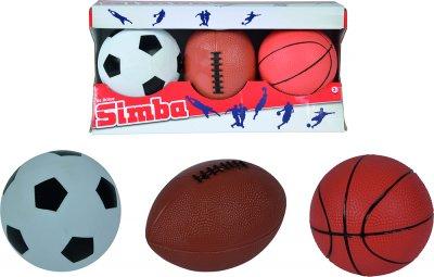 Игровой набор мячей Simba Toys 3 игры 3+ (7352005)