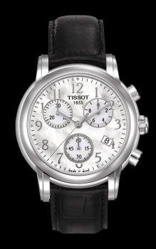 Годинник Tissot T050.217.16.112.00 кварц.Хронограф
