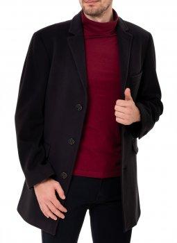 Пальто Pierre Cardin з вовни мериносів Синє (3521/3000)
