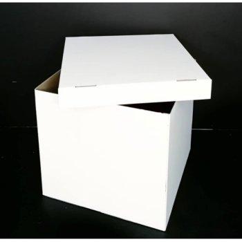Коробка-сюрприз без печатки DonShar Хіт 700*700*700 мм Біла