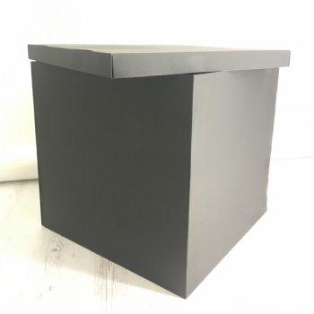 Коробка-сюрприз без печатки DonShar Premium 700*700*700 мм Чорна