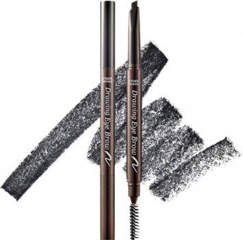 Олівець для брів Etude House Drawing eye brow #6 Black зі щіточкою 10 г (8806199416231)