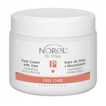 Крем для ног Norel Moisturizing and softening foot cream with urea с мочевиной 200 мл (PK 395)