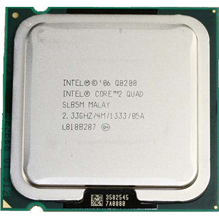 Б/У, Процесор, Intel® Core™2 Quad Q8200, 2,33 GHz, 4 МБ, 1066