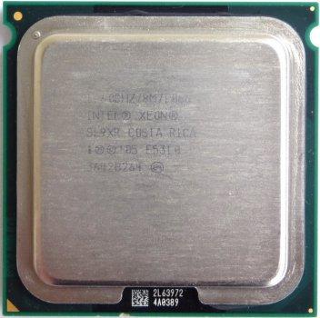 Б/У, Процесор, Intel Xeon E5310, 8 МБ, 1,60 GHz, 1066 GHz