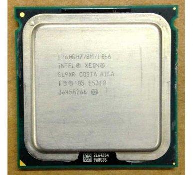 Б/У, Процесор, Intel Xeon E5310, 8 МБ, 1,60 GHz, 1.60 GHz