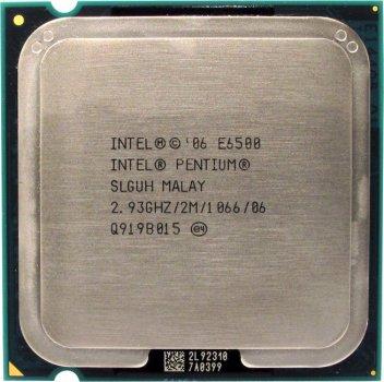 Б/У, Процесор, Intel Pentium E6500 2.93 GHz, 2M, 1066