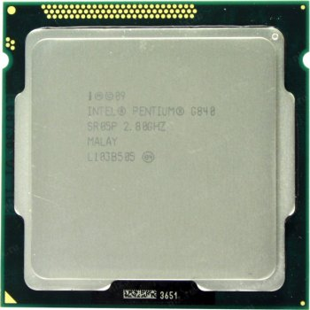 Б/У, Процесор, Intel Pentium G 840, 3M, 2.80 GHz, s1155